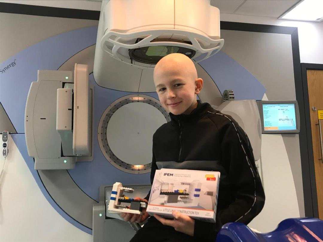 'Little Linac' kits provided free of charge to children undergoing radiotherapy