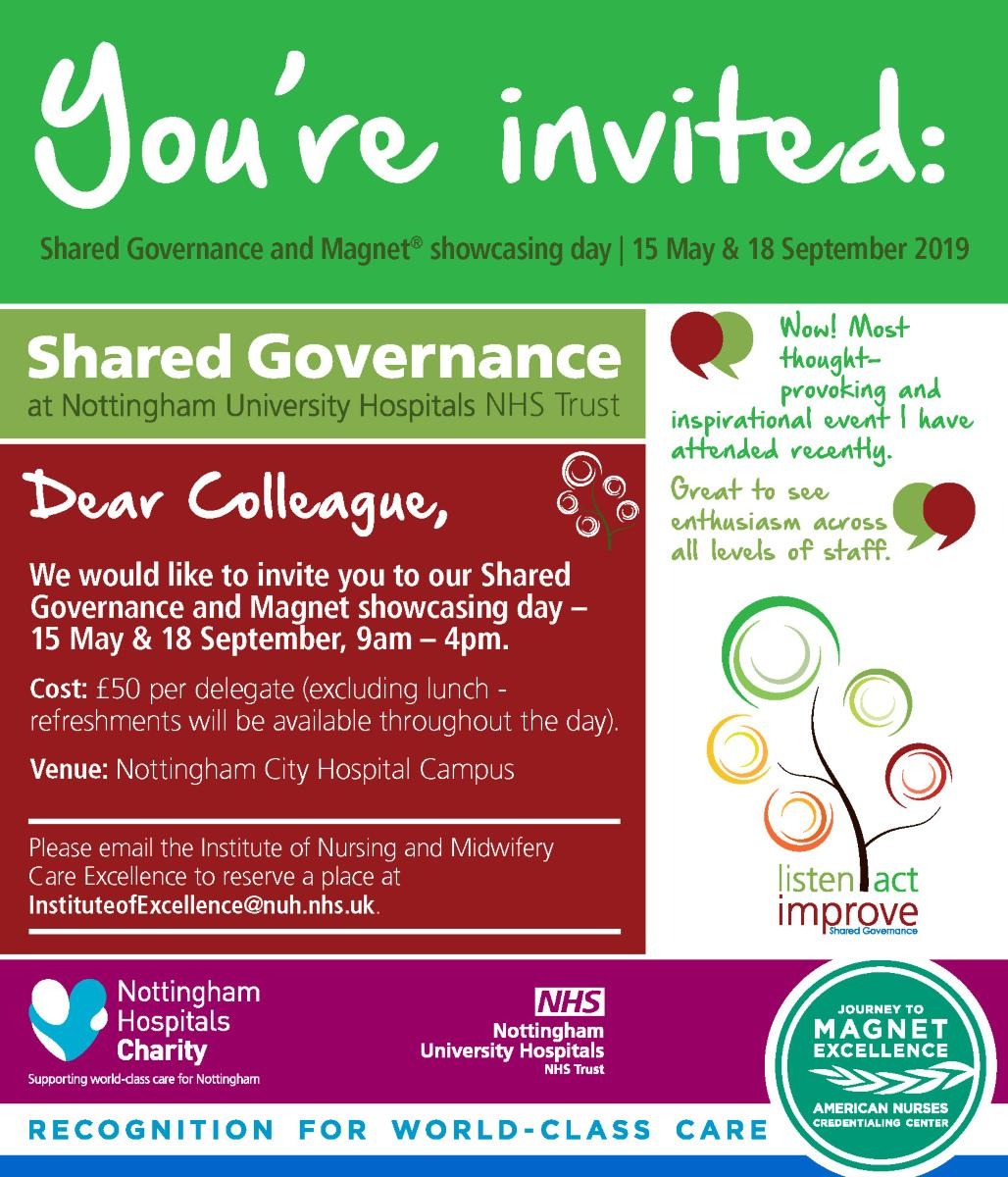 Shared Governance and Magnet Showcasing Conference