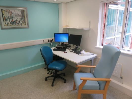 Outpatient desk