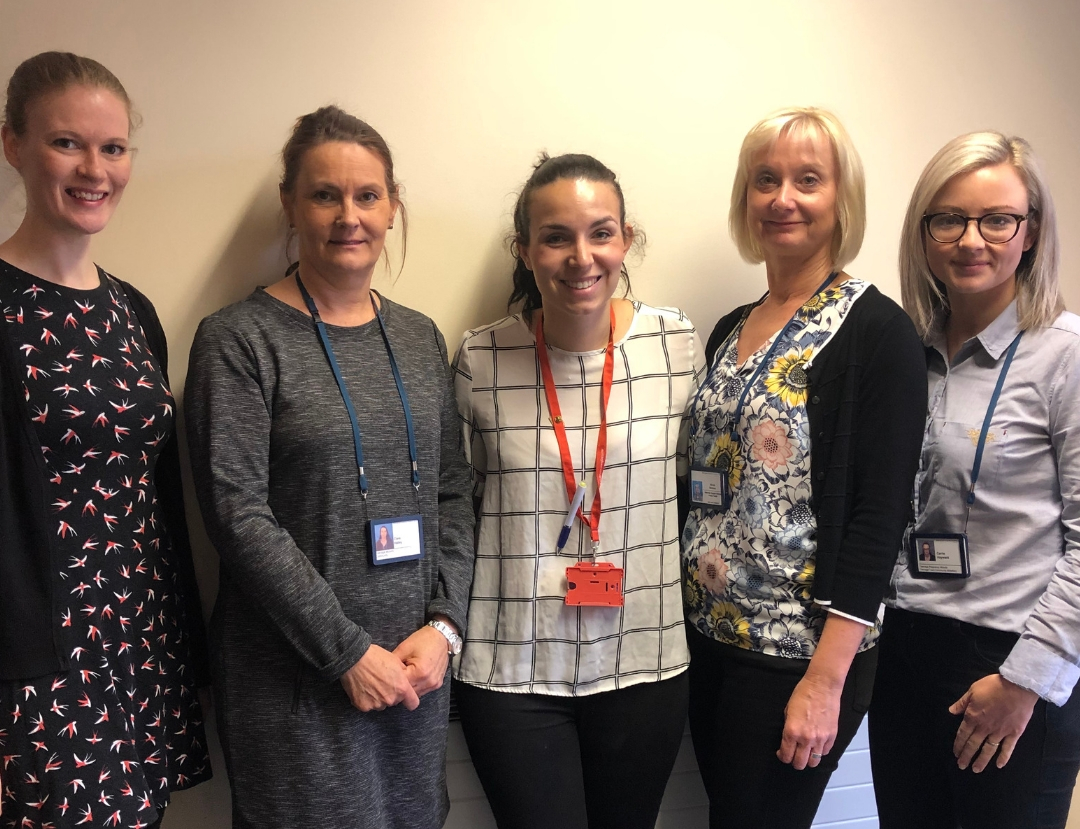 Meet the team of midwives that are supporting young mums across Nottingham