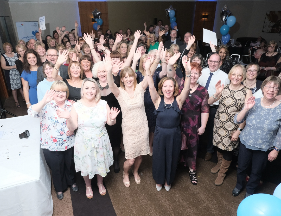 Celebrating the remarkable achievements of Team NUH's long-serving staff