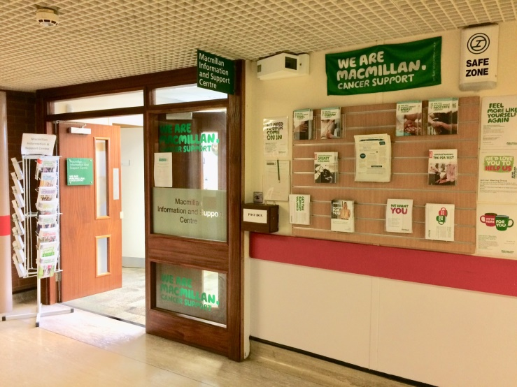 Macmillan Nottingham City Hospital Image