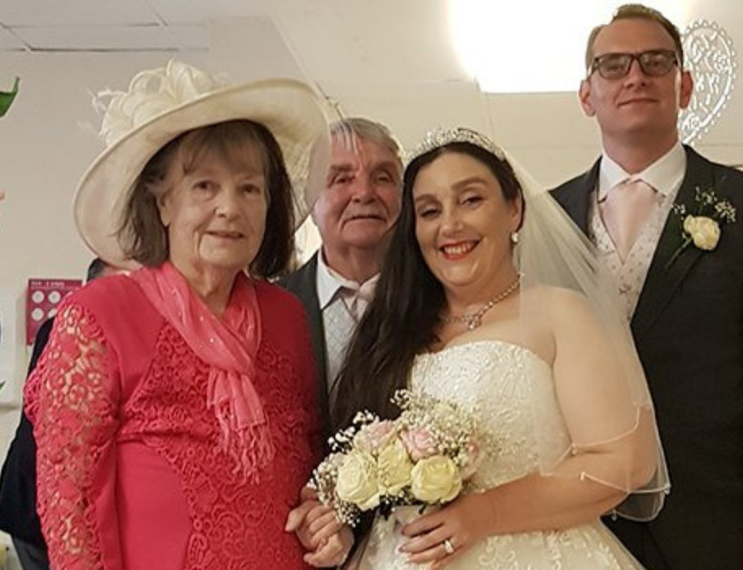 Bringing wedding to the hospital ward