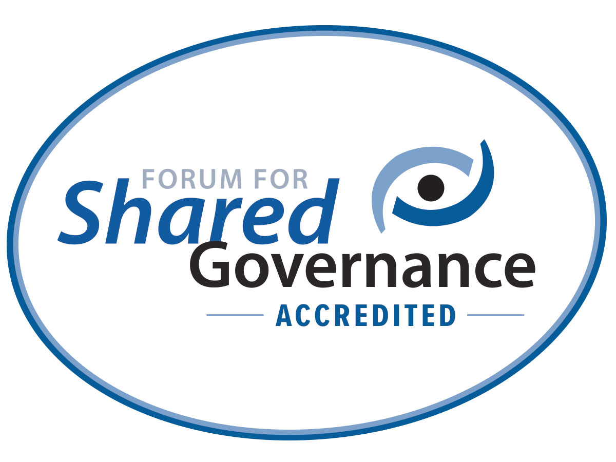 Shared Governance Forum accredited