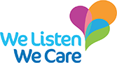 We Listen We Care logo